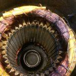 Doorgebrande motor